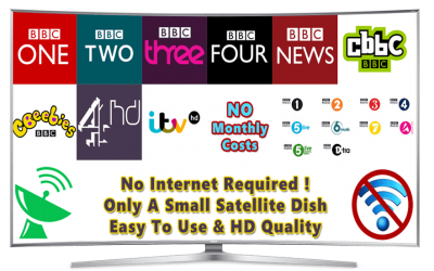 Freeview Satellite TV from Satellite in HD